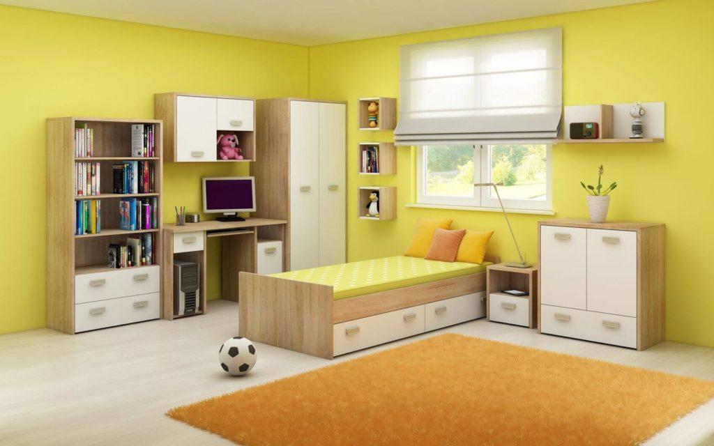 Barva dětského pokoje