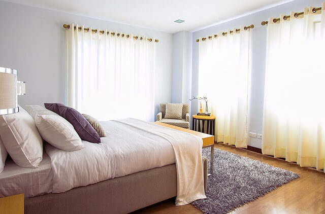 barva ložnice