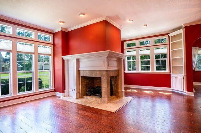 barva obývacího pokoje