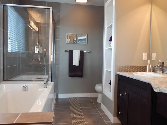 inspirace designu koupelny