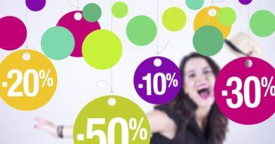 Slevy v procentech