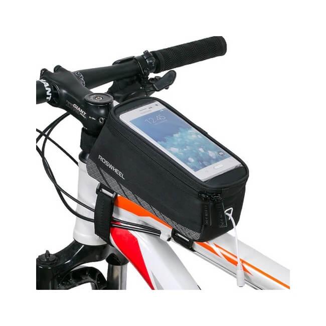 Mobilní držák na kolo s úložným prostorem