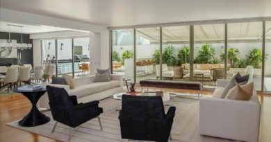 Luxusní interiér bytu k pronájmu