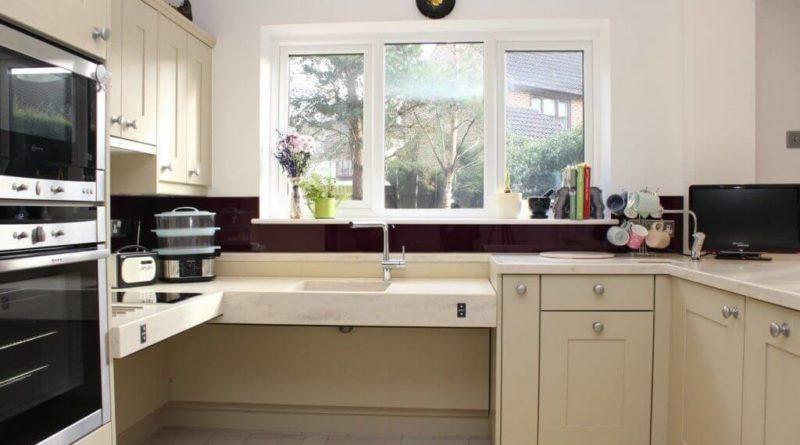 Kuchyň pro bezbariérový přístup