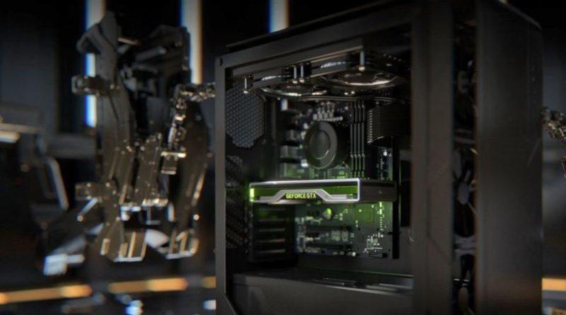 Grafická karta NVIDIA Geforce 1660 Ti v PC sestavě