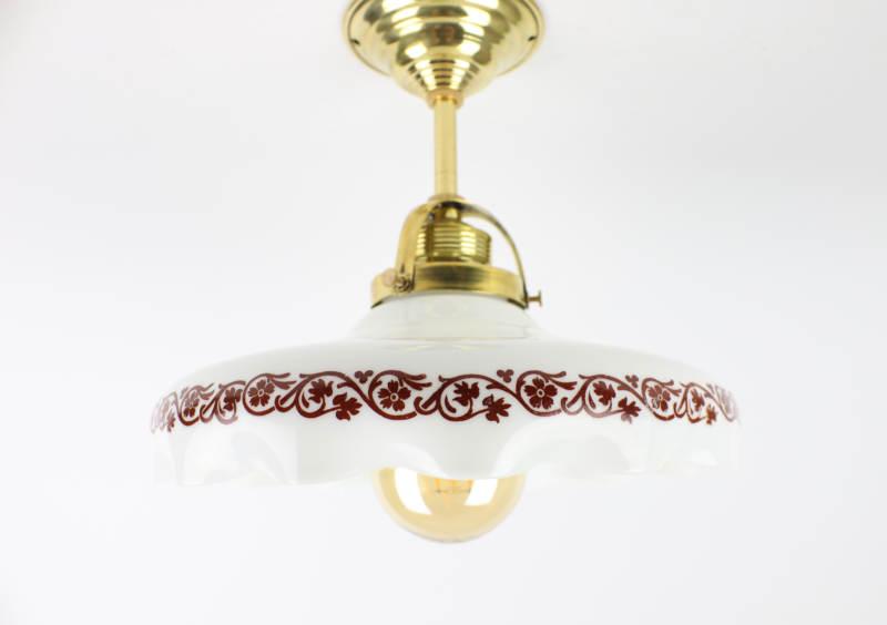 Secesní svítidlo s ornamenty