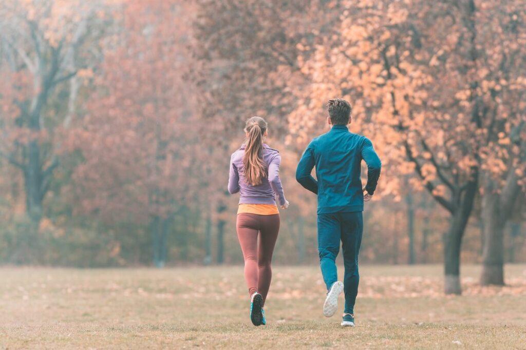 Běh s partnerem